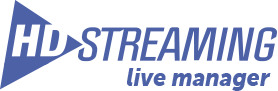 HD-Streaming Live Manager Logo